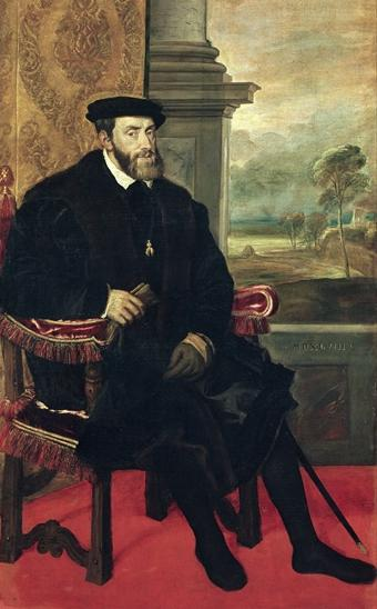 Charles V by Titian (1548)